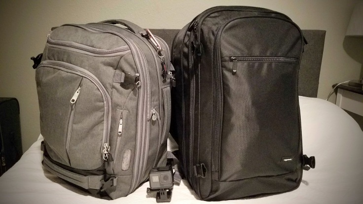 AmazonBasics Carry-On Backpack - The Places We Live