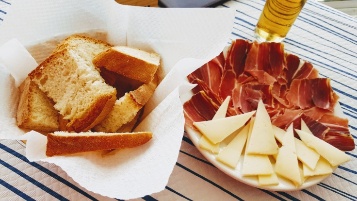 Jamón and Queso Portion - The Places We Live