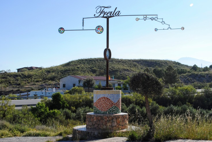 Freila, Spain sign - The Places We Live