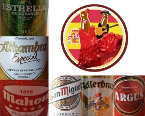 Spanish Beer from UnTappd